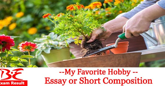 Gardening essay writing