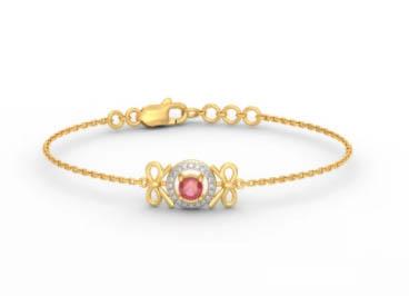 perhiasan gelang emas mewah
