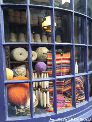 Knitting shop in Diagon Alley, Universal Studios, Florida