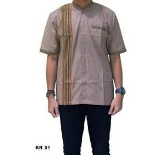 harga baju koko batik terbaru