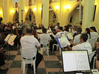 A Orquestra Tocando a Vida brindou o público com obras clássicas e contemporâneas