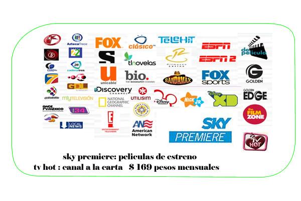 ve tv canales de sky