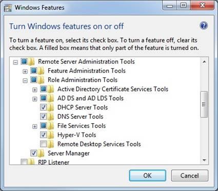 Remote Server Administration Tools (RSAT) for Windows 10
