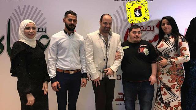 نجوم الفن في سحور مركز راشد لأصحاب الهمم في دبي