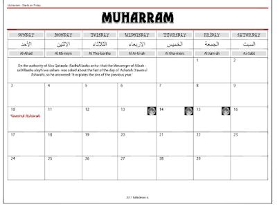 Perpetual Hijri Calendars