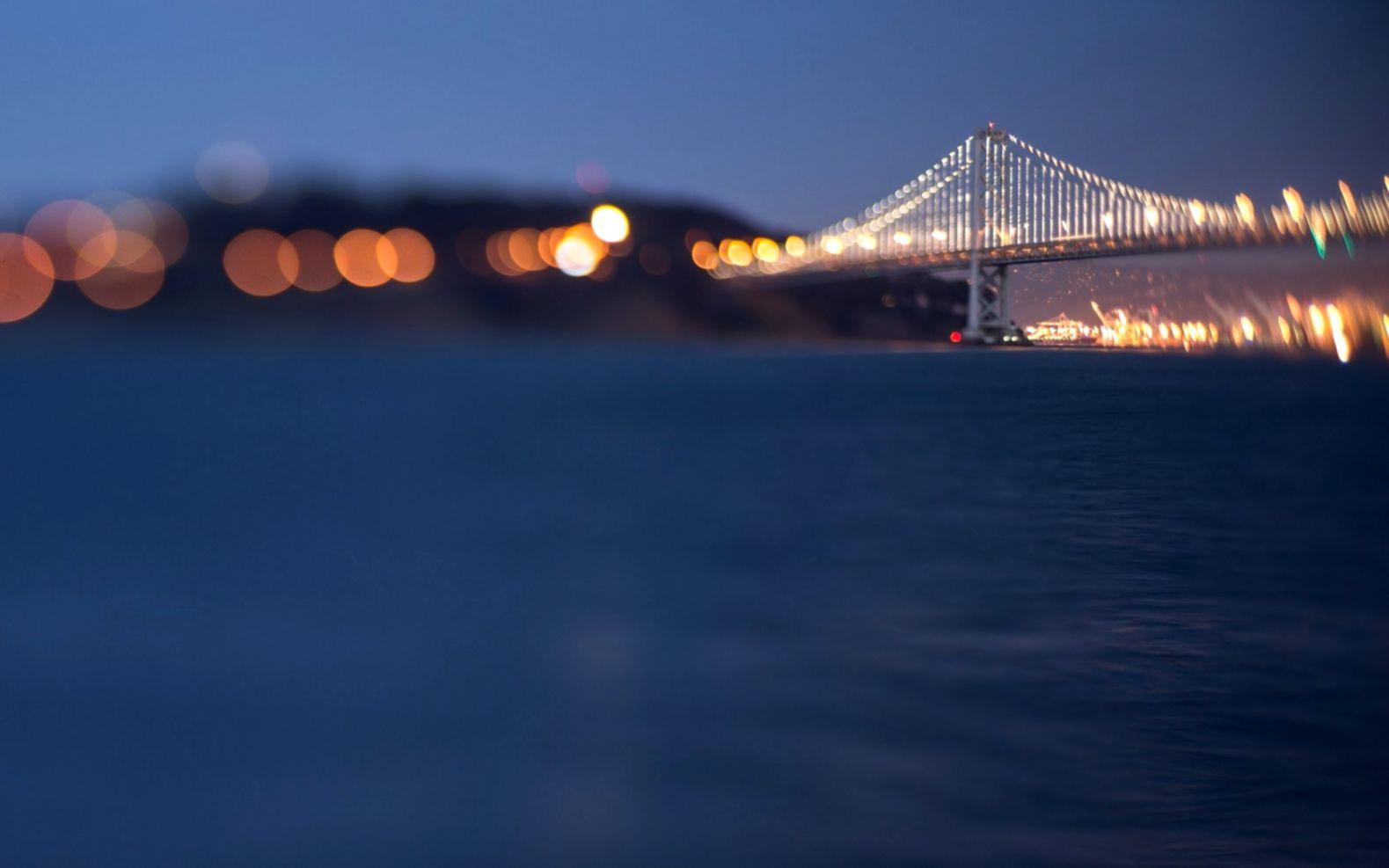 Bridge Bokeh Lights Hd Wallpaper Like Wallpapers