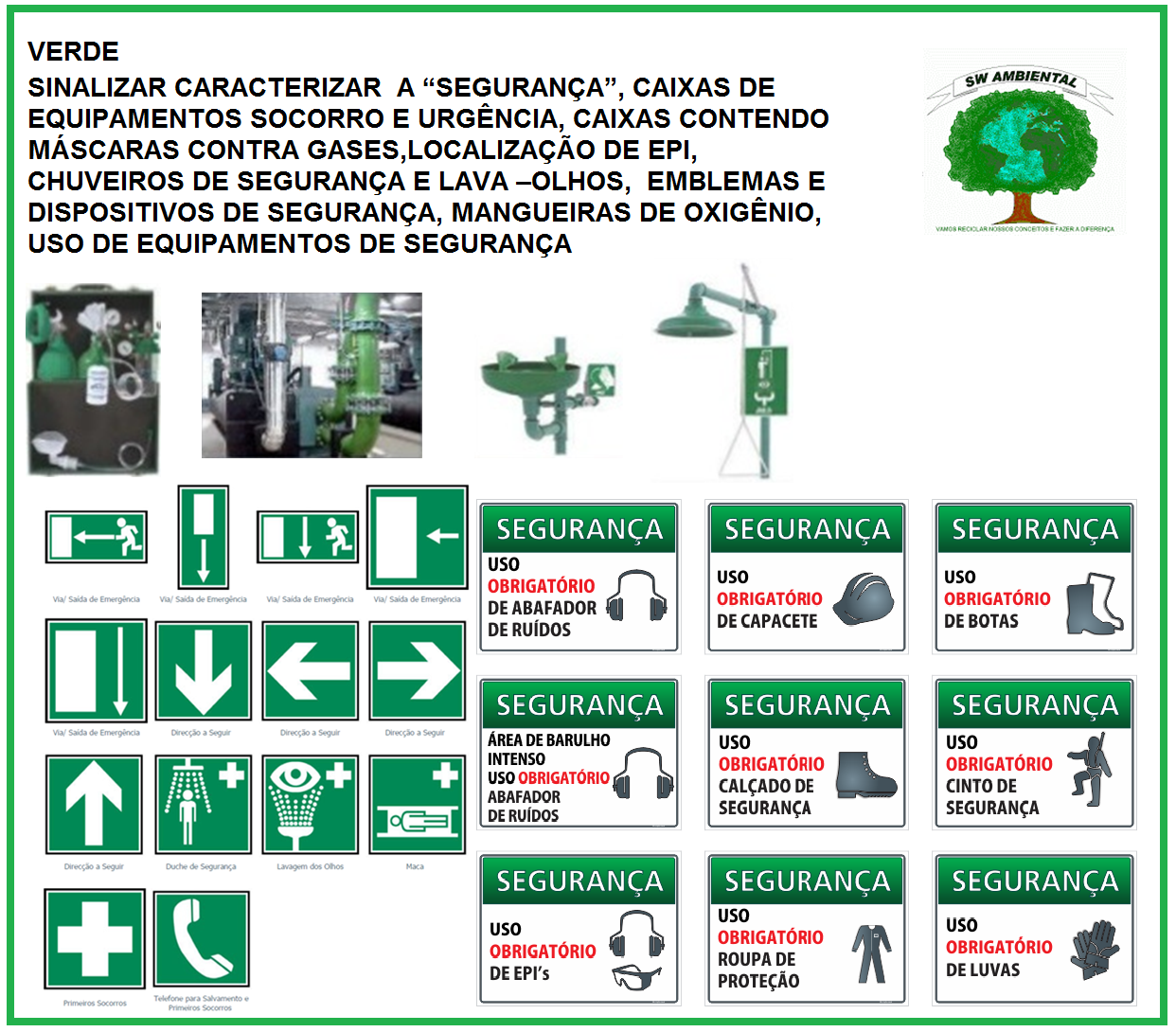SW AMBIENTAL  NR 26 SINALIZAÇÕES DE SEGURANÇA 08d6178fcd