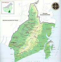 Soal tentang Inset Peta