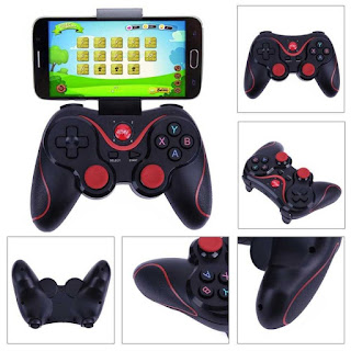 m dorsum alongside some other postal service near wireless Bluetooth gamepad controller Foneboy X3 Bluetooth Gamepad Controller Review in addition to Info