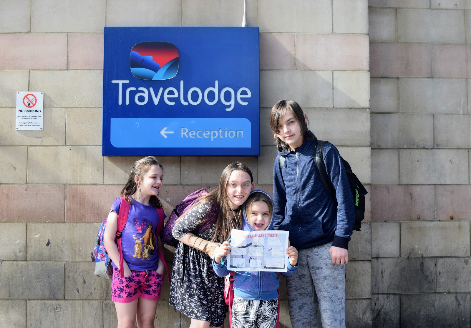 , The #LiteracyLegacy Roald Dahl Trail, Llandaff and Cardiff with Travelodge
