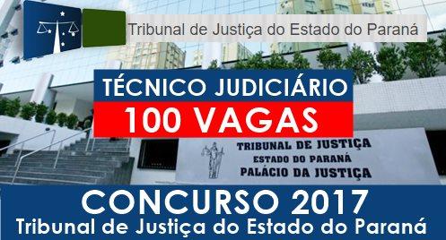Apostila TJ-PR 2017 Técnico Judiciário