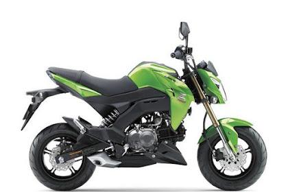 Harga, Spesifikasi dan Pilihan Warna Kawasaki Z125 Pro