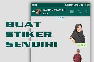 Cara Membuat Stiker Whatsapp Keren Pakai Fotomu Sendiri