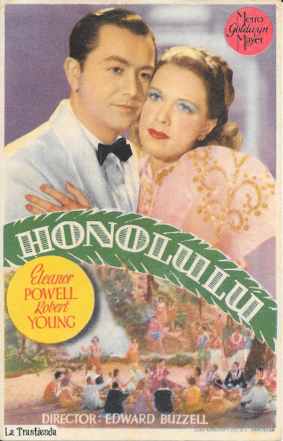 Honolulu - Programa de cine - Eleanor Powell - Robert Young