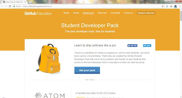 GitHub Developer Student Pack