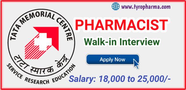 recruitment-for-pharmacist-at-tata-memorial-centre