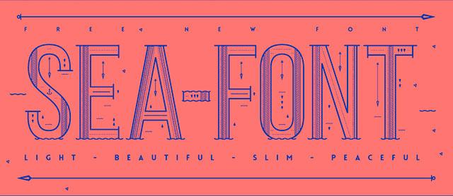 Sea_Free_Font
