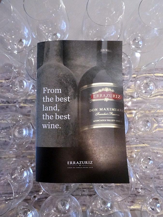 Errázuriz - From the best land, the best wine.