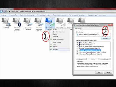 Cara Setting DNS Costum di komputer