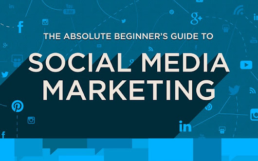 The Absolute Beginner's Guide to Social Media Marketing - #Infographic
