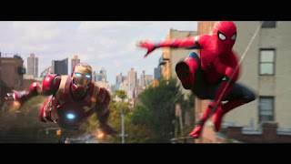 spider-man homecoming: nuevos posters con iron man