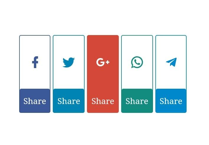 Cara Membuat Tombol Social Share Keren Responsive Blog