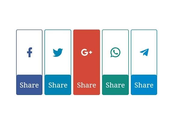 Membuat Tombol Social Share Blogger Simple Ala Mas Sugeng