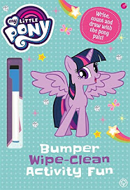My Little Pony Bumper Wipe-Clean Activity Fun Books