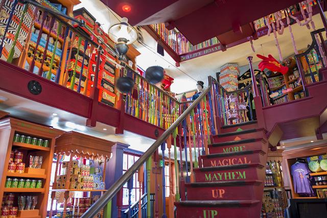 Lojas para visitar no Beco Diagonal do Harry Potter