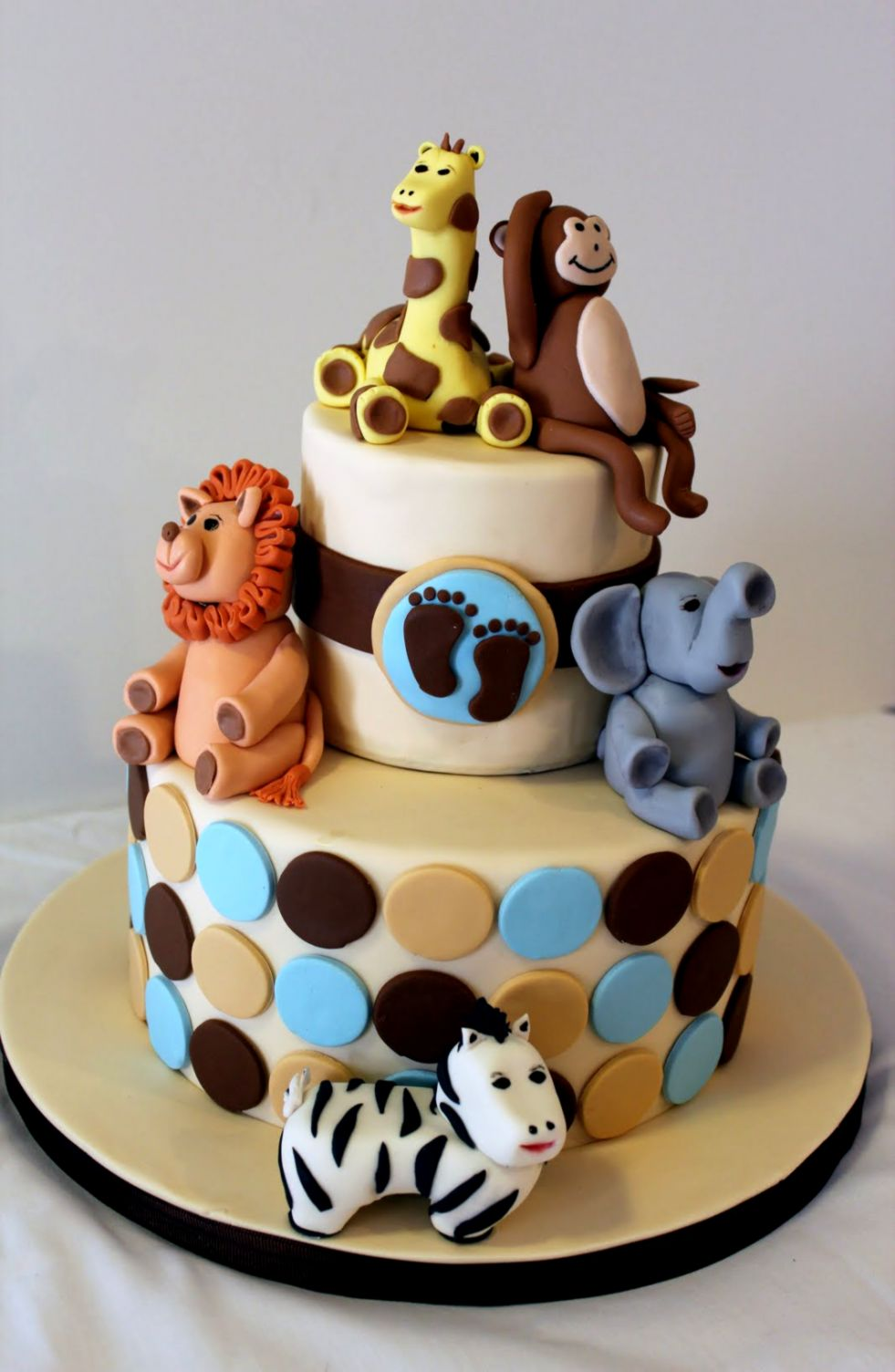 Living Room Decorating Ideas Baby Shower Cake Zoo Animals