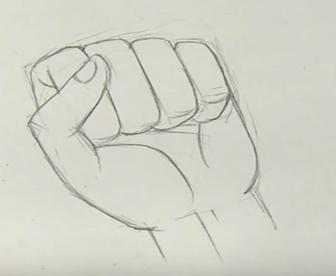 Karakalem Yumruk çizimi Nasıl Yapılır Karakalem çizimleri