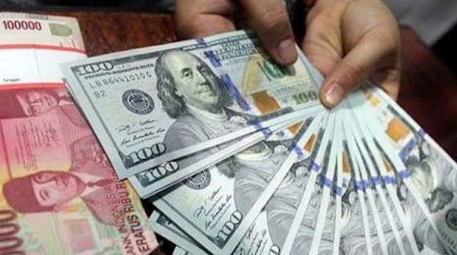 Tembus Rp15.000 Per USD, Rupiah Terlemah Sejak Krisis 1998