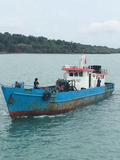 TNI AL kembali berhasil Amankan Kapal Pengangkut Solar Ilegal di Perairan Batam
