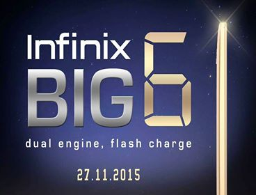 INFINIX BIG 6   A Powerful Big smartphone Launching This 27th of November price in nigeria