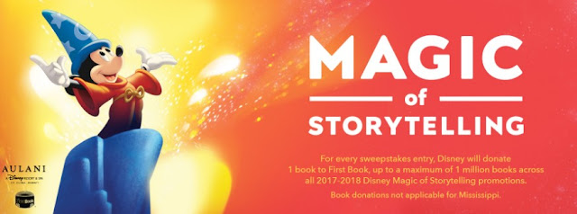 DISNEY MAGIC OF STORYTELLING SWEEPSTAKES