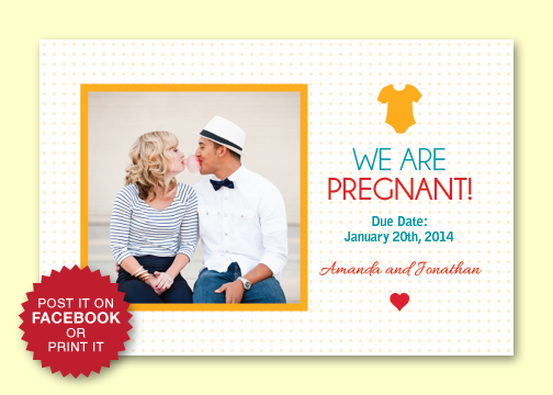 Free Baby Announcement Templates printable shower pregnancy – Baby Announcement Template Free
