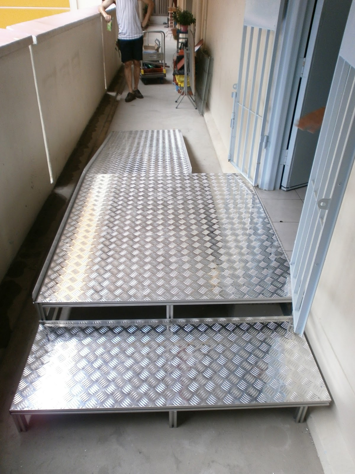 wheelchair lift for truck kitchen chairs ikea ramps and platform lifter - delcon technology (s) pte ltd