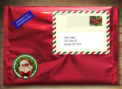 Elfi Santa personalised letter from Santa
