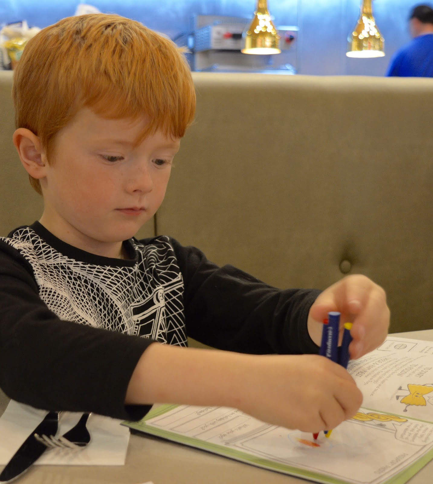 Carluccio's - intu Metrocentre | Children's Menu Review - kids activity pack