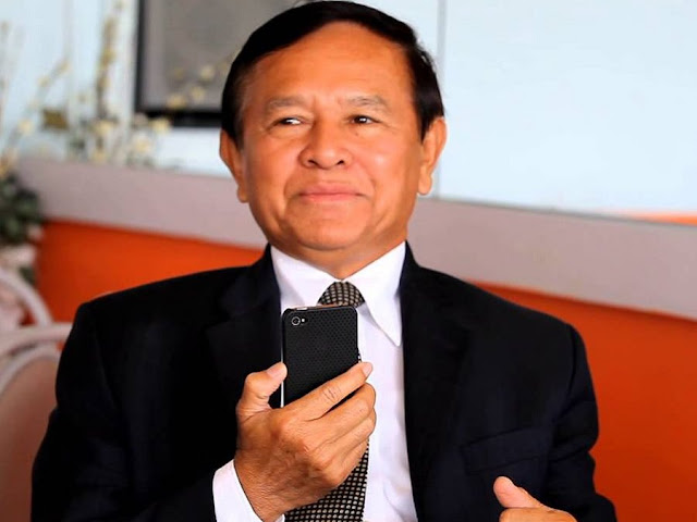 Kem Sokha, président par intérim du Parti de sauvetage national du Cambodge