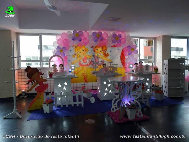 Decoração provençal tema Bailarinas para festa de aniversário infantil feminino