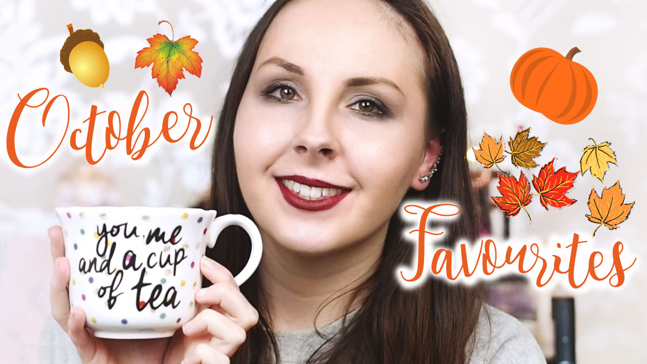 October Beauty Lifestyle Favourites Video