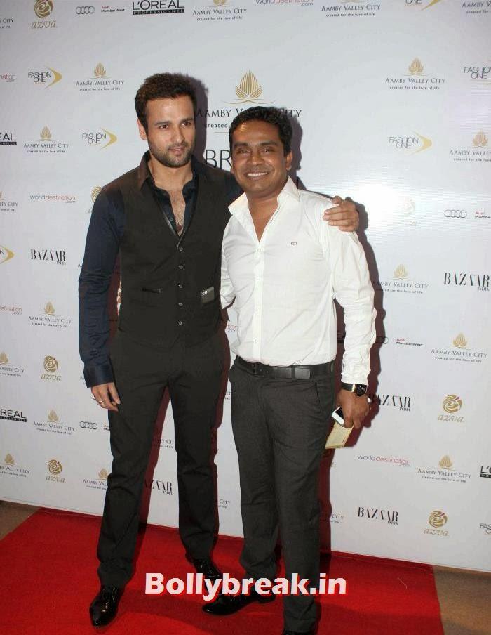 Rohit Roy, Mushtaq Shiekh, Hot Celebs at India Bridal Fashion Week 2013