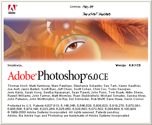 Adobe Photoshop 6.0.1 CE