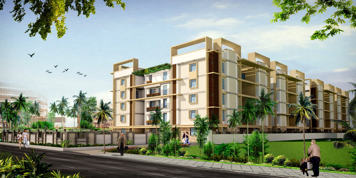 3d Architectural Visualization: Apartments in Bangalore
