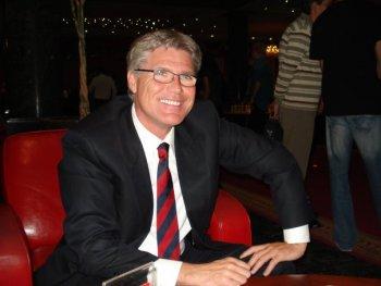 Patrick Van Hoolandt, le président de l'Association Internationale des Échecs Francophones ou AIDEF
