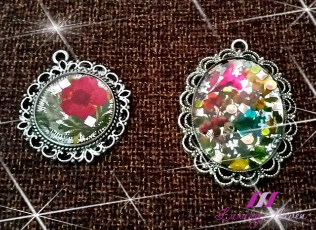 dried flowers handicrafts diy pendants