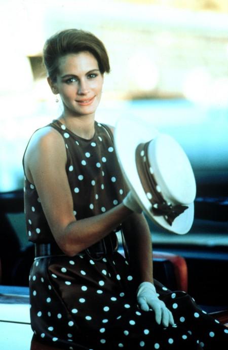Pretty Woman Kleid Mit Punkten Kaufen 7861b2