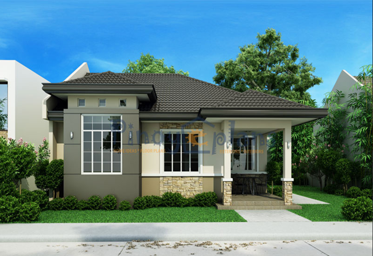 50 beautiful images of small bungalow custom home designs for Small house design worth 300 000 pesos