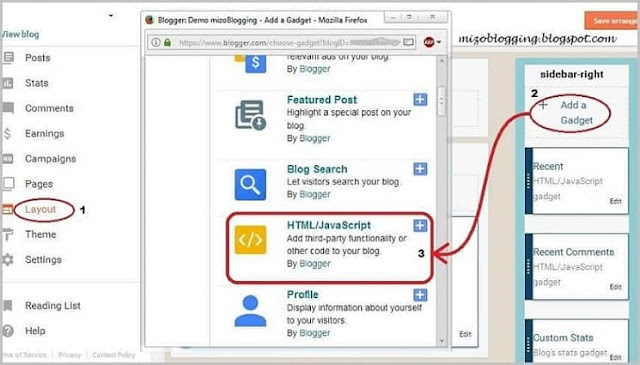 blogger recent comment widget siam dan